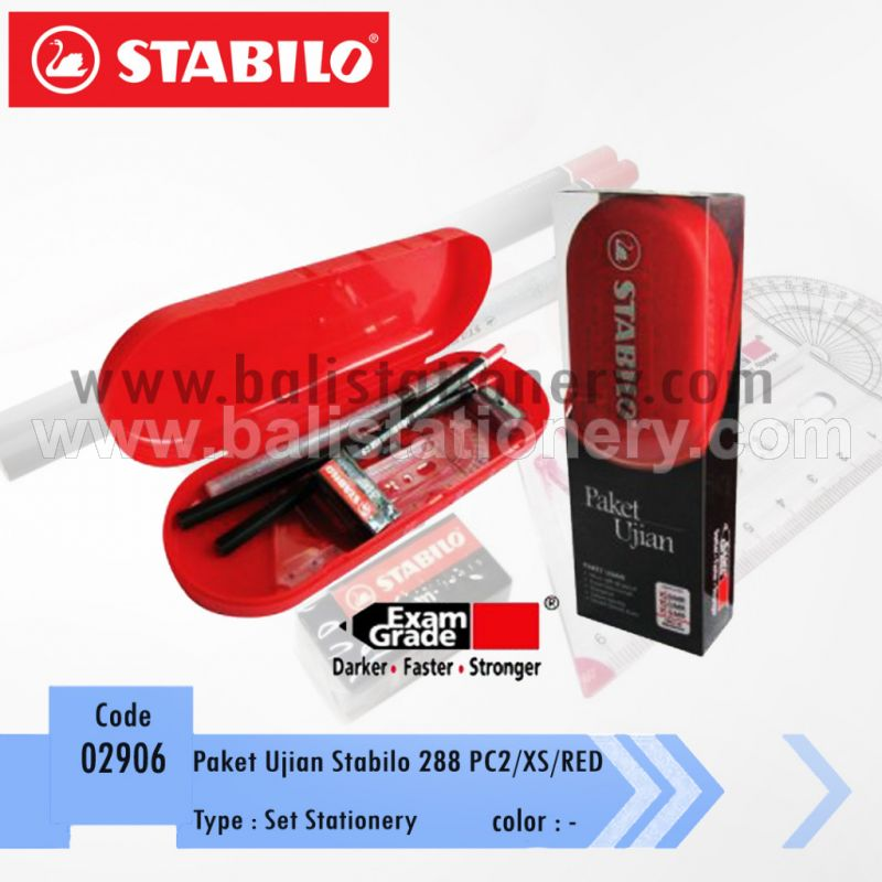 Paket Ujian Stabilo 288PC2/XS/RED