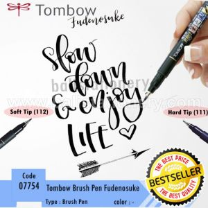 suka: 193 Share ke Tombow Fudenosuke Brush Pen Art Markers