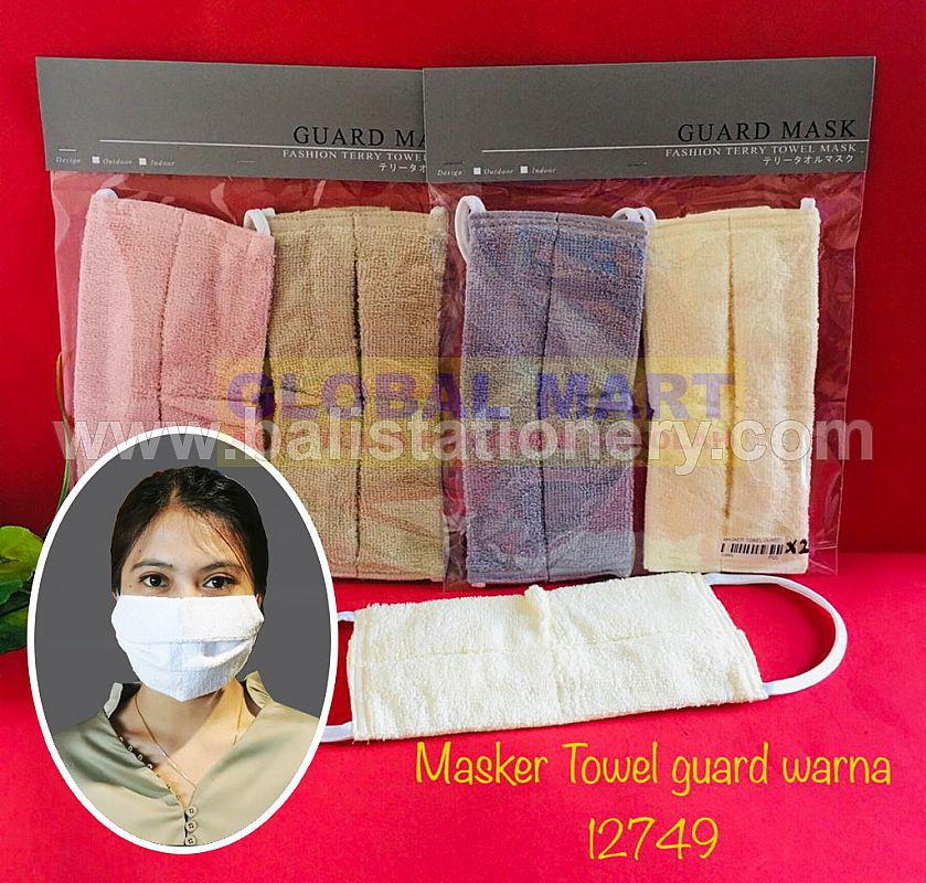 Masker Original GUARD MASK Tery Towel Premium colors