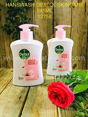 Hand Wash Dettol Skin Care 245ml Original